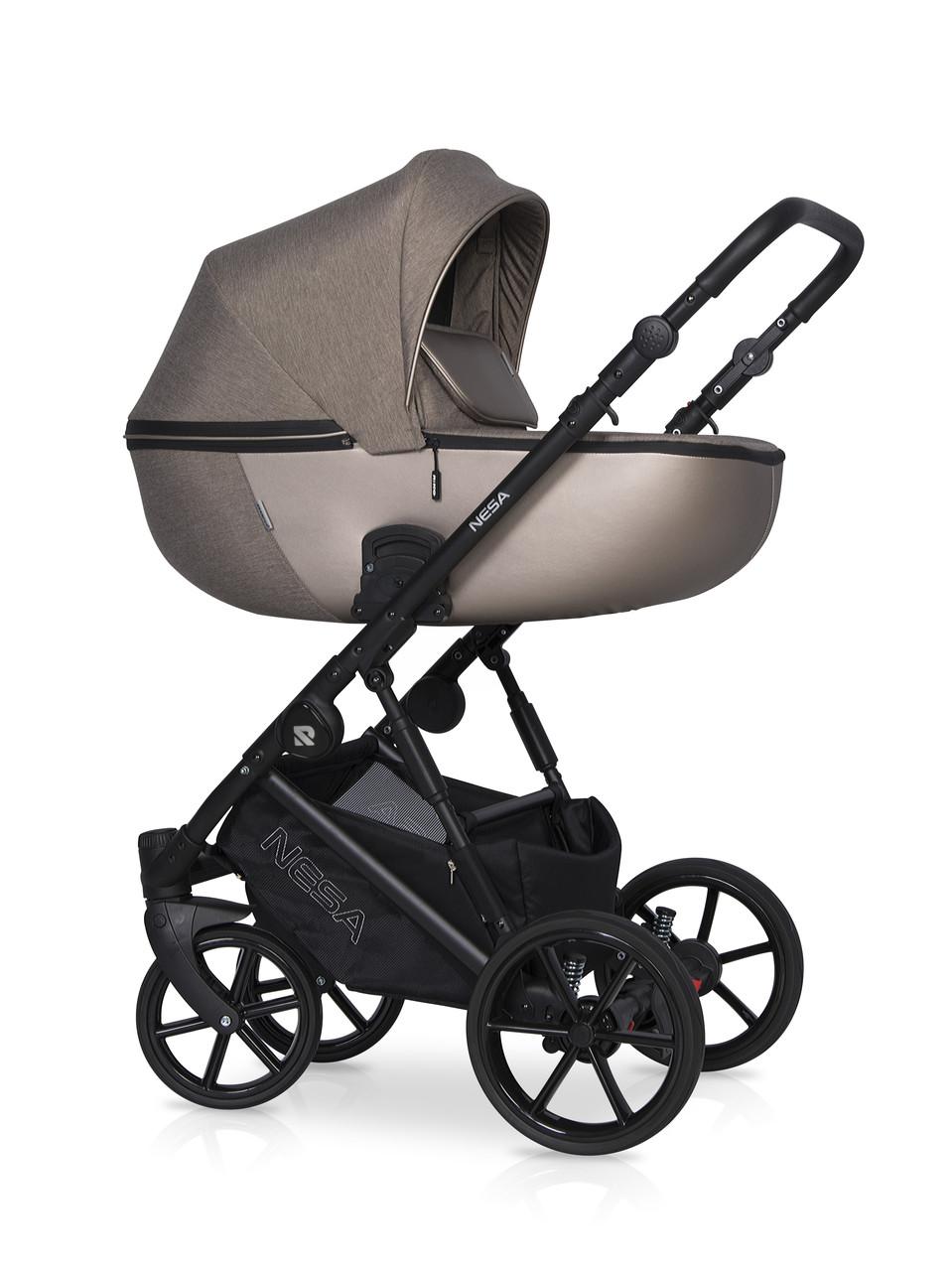Детская универсальная коляска 2 в 1 Riko Nesa 04 Nugat