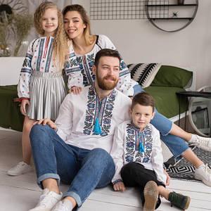 Парні вишиванки для всієї сім'ї