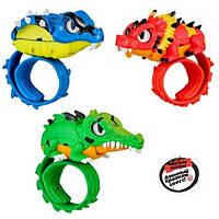 Интерактивный браслет крокодил Little Live Wraptiles Croxor Slap Bracelets