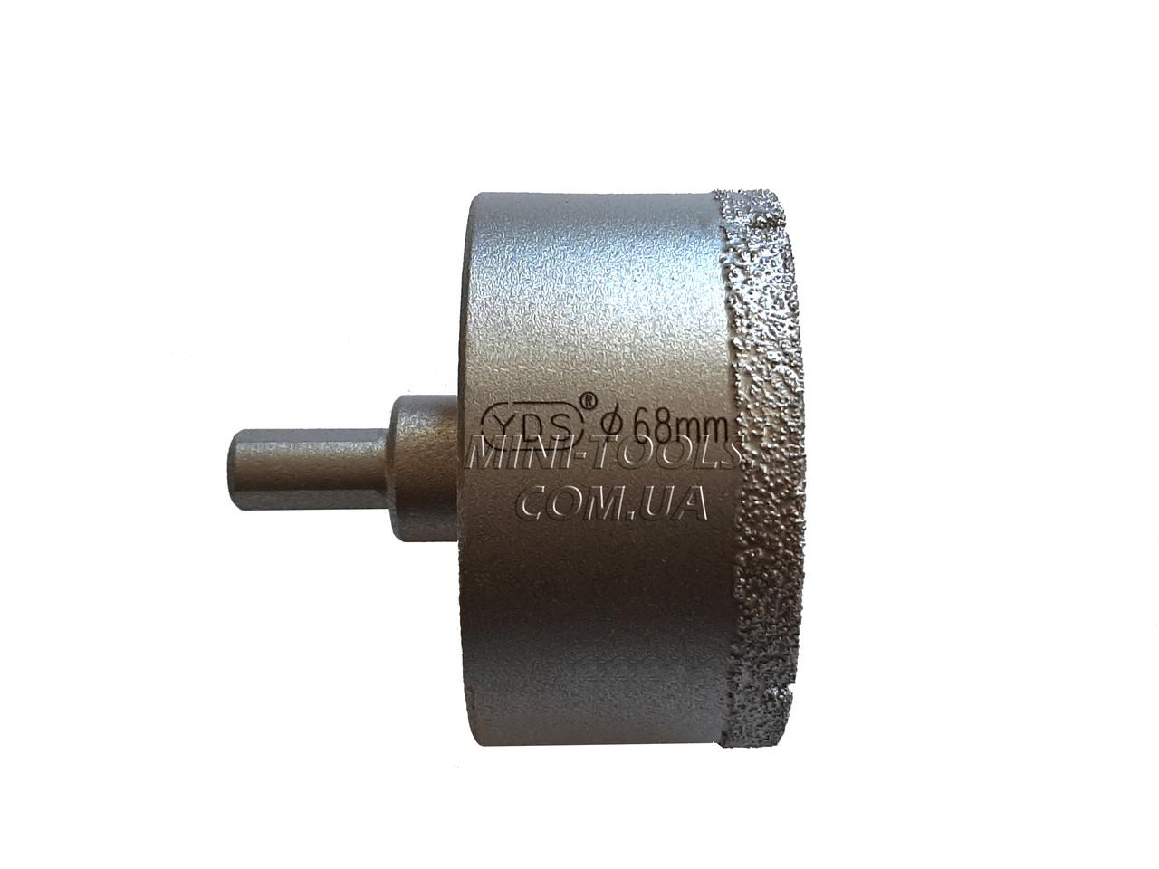 Спеченная алмазна коронка Ø 68 mm. YDS Tools