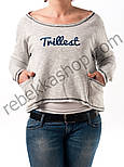 Свитшот укороченый Trillest, фото 5