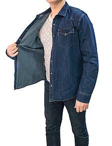Рубашка джинсовая  02 TALIN BLUE