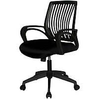 Диваны для офиса мягкое комфортное кресло в офис office plus black 01