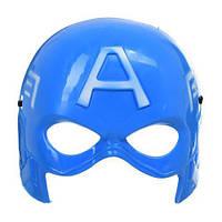 Пластиковая маска Капитана Америка