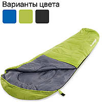Спальный мешок Acamper Мумия, кокон, 250g/m2 спальник туристический Зеленый