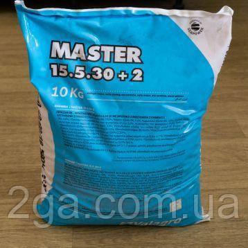 Мастер 15-5-30 / Master 15-5-30 - комплексное удобрение, Valagro. 10 кг