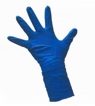 Перчатки резиновые плотные с длинной манжетой Care365