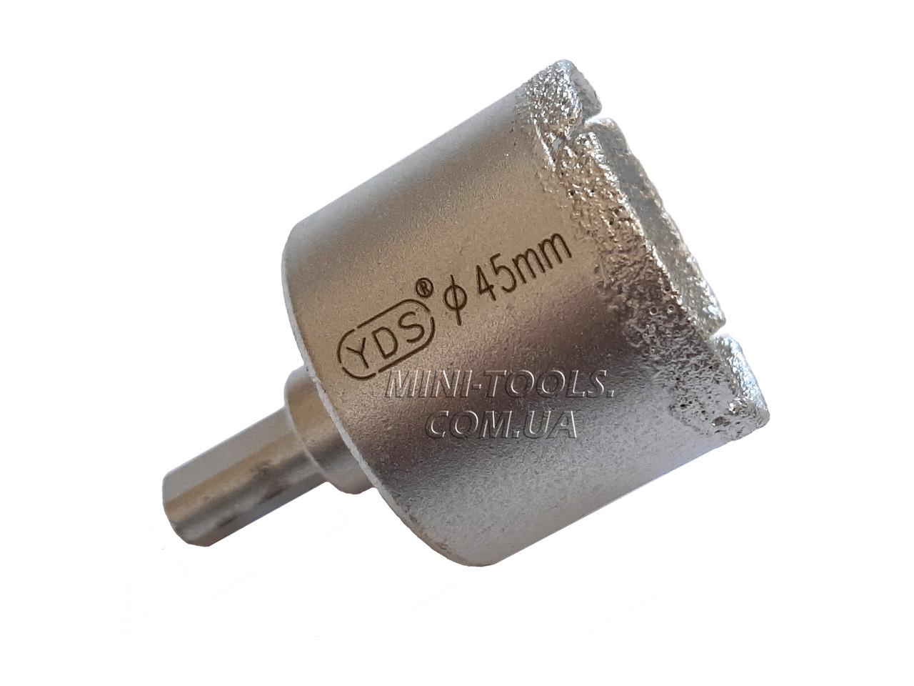 Спеченная алмазна коронка Ø 45 mm. YDS Tools