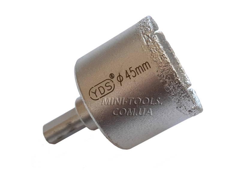Спеченная алмазна коронка Ø 45 mm. YDS Tools, фото 2