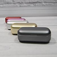 Bluetooth беспроводные наушники с водозащитой TWS s8 5.0 (блютуз гарнитура с кейсом-зарядкой) (красные), фото 7