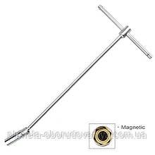 Ключ свечной с магнитом Т-образный TOPTUL 16мм L450мм CTHB1645
