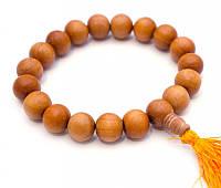 Чётки - браслет из дерева манго 12мм.