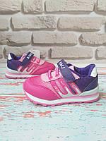 Розовые детские кроссовки BI KI на девочку 22 размер 22