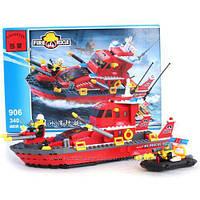Конструктор Enlighten Пожежний катер з лодкою 340 дет.