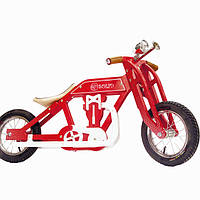 Беговел мотоцикл Bartka DaisySign красный Vel-13