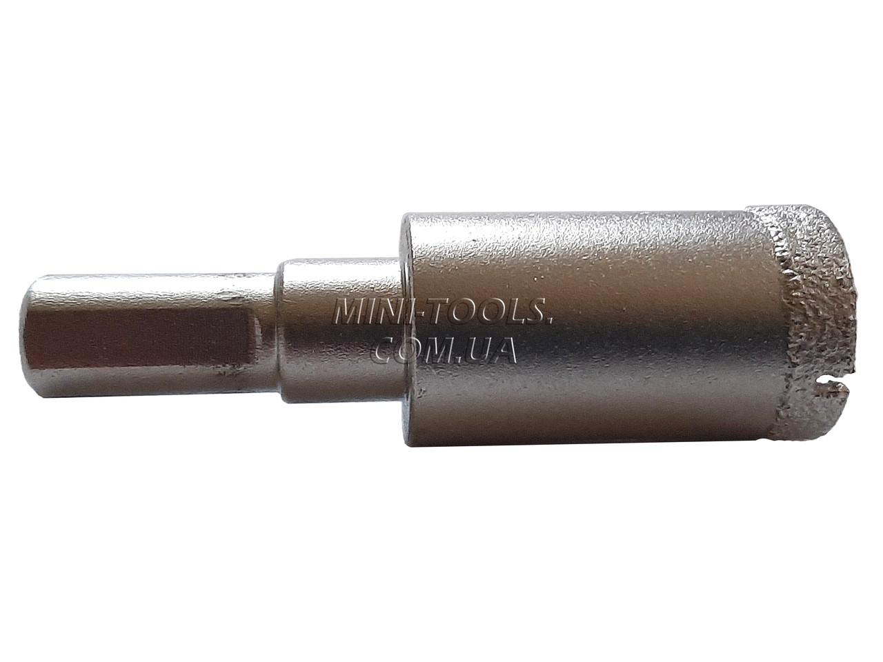 Спеченная алмазная коронка Ø18mm. YDS Tools