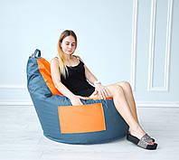Кресло груша с карманом Люкскомфорт TIA-SPORT, фото 1