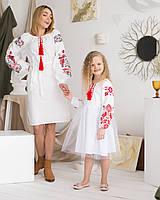 Парні сукні вишиванки мама+донька