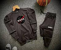 Спортивный костюм мужской Nasa x black осенний весенний, фото 1