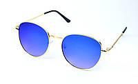 Сонцезахисні круглі дитячі окуляри (0427 сін)