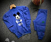 Спортивный костюм мужской Mickey Mouse x blue весенний осенний, фото 1