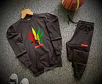 Спортивный костюм мужской Stonerdays x black осенний весенний, фото 1