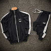 Спортивный костюм мужской Puma lampas x black весенний осенний | ЛЮКС качество