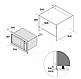 Микроволновая печь Fabiano FBM 2602 G нержавеющая сталь (INOX) встраиваемая, фото 2