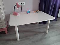 Детский столик белый (110х70х52см)