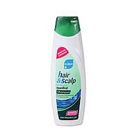 Hair & Scalp Menthol шампунь против перхоти с ментолом 400мл