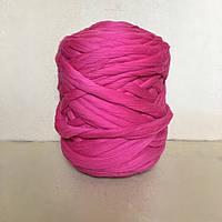 Толстая пряжа шерсть мериноса розовый 100% шерсть 21 микрон цвет Фуксия
