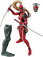 Фигурка Hasbro Леди Дэдпул, Легенды Марвел, 14 см - Lady Deadpool, Marvel Legends