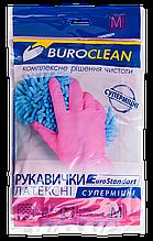 Перчатки хозяйственные суперпрочные buroclean, размер m 10200304