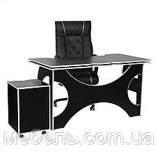 Компьютерный стол со стулом и тумбой Barsky HG-06/BD-01/CUP-06 Homework Game, геймерская станция, фото 3