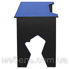 Компьютерный стол Barsky HG-01 Homework Game Blue, геймерский стол, синий, фото 2