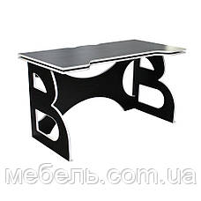 Мебель для работы дома стол школьный Barsky Homework Game Red HG-06 черный с белой кромкой, фото 3