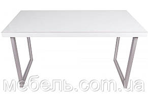 Мебель для работы дома стол руководителя Barsky Office Allu White\Oregon 1400x700x750, OFWO alu-01, фото 2