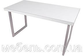 Мебель для работы дома стол руководителя Barsky Office Allu White\Oregon 1400x700x750, OFWO alu-01, фото 3
