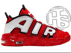 Мужские кроссовки Nike Air More Uptempo University Red/Black/White CD9403-600