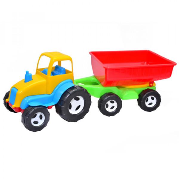Трактор с прицепом ТМ Киндервей