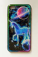 Чехол Fiji для Apple Iphone 7 Plus бампер с принтом Fairy Tale Unicorn