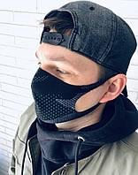 Хлопковая защитная многоразовая маска Питта