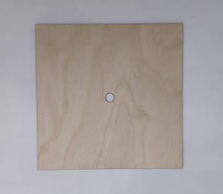 Ярус для багатоярусного торта 24*24 см h 4 мм