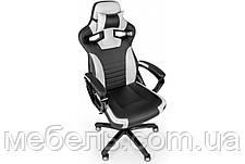 Офісне крісло Barsky Sportdrive Game White/Black SD-17, фото 3