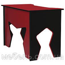 Компьютерный стол со стулом Barsky HG-02/SD-08 Homework Red, ученическая станция, фото 3