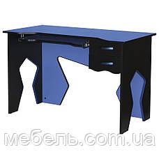 Компьютерный стол со стулом Barsky HG-01/SD-06 Homework Blue, рабочая станция, фото 2
