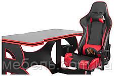 Компьютерные кресла офисное компьютерное игровая станция barsky homework game red hg-05/sd-13, фото 3