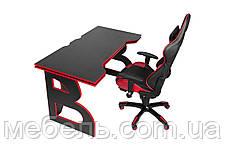 Компьютерные столы компьютерный игровая станция barsky homework game red hg-05/sd-13, фото 3