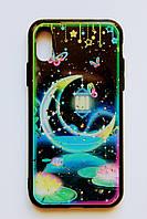 Чехол Fiji для Apple Iphone XS бампер с принтом Fairy Tale Moon