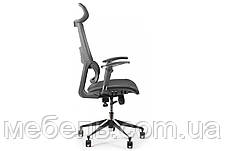 Офисное кресло Barsky BB-04 Black New, сеточное кресло, фото 2